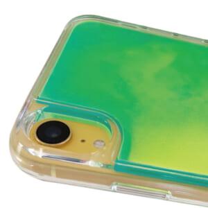 iPhone用ネオンサンドケース カメラレンズ保護