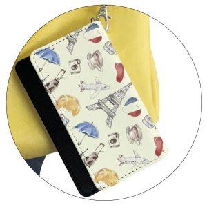 ファスナー付きミニ財布|ストラップホール付き