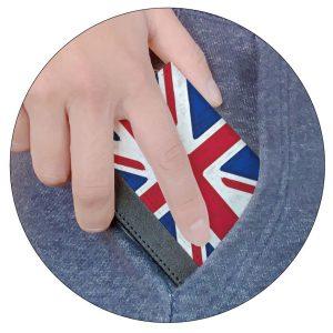 ファスナー付きミニ財布|従来の三つ折りよりも更にスマート