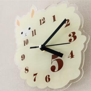 壁かけアクリル時計|設置例①