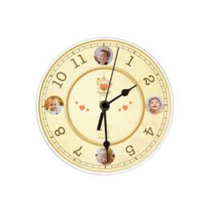 壁かけアクリル時計|印刷サンプル⑥