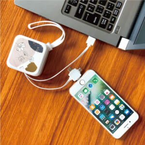 3 in 1 USBケーブル 使用例①