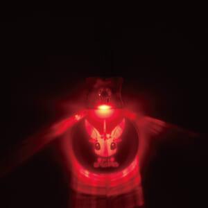 光るアクリルキーホルダー 点灯②
