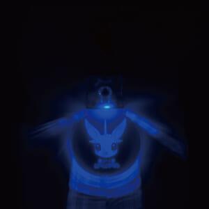 光るアクリルキーホルダー 点灯③